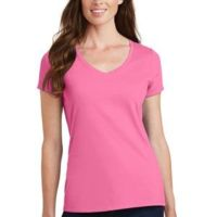 Ladies Fan Favorite V Neck Tee - Great for Picture / Photo Printing -r Thumbnail